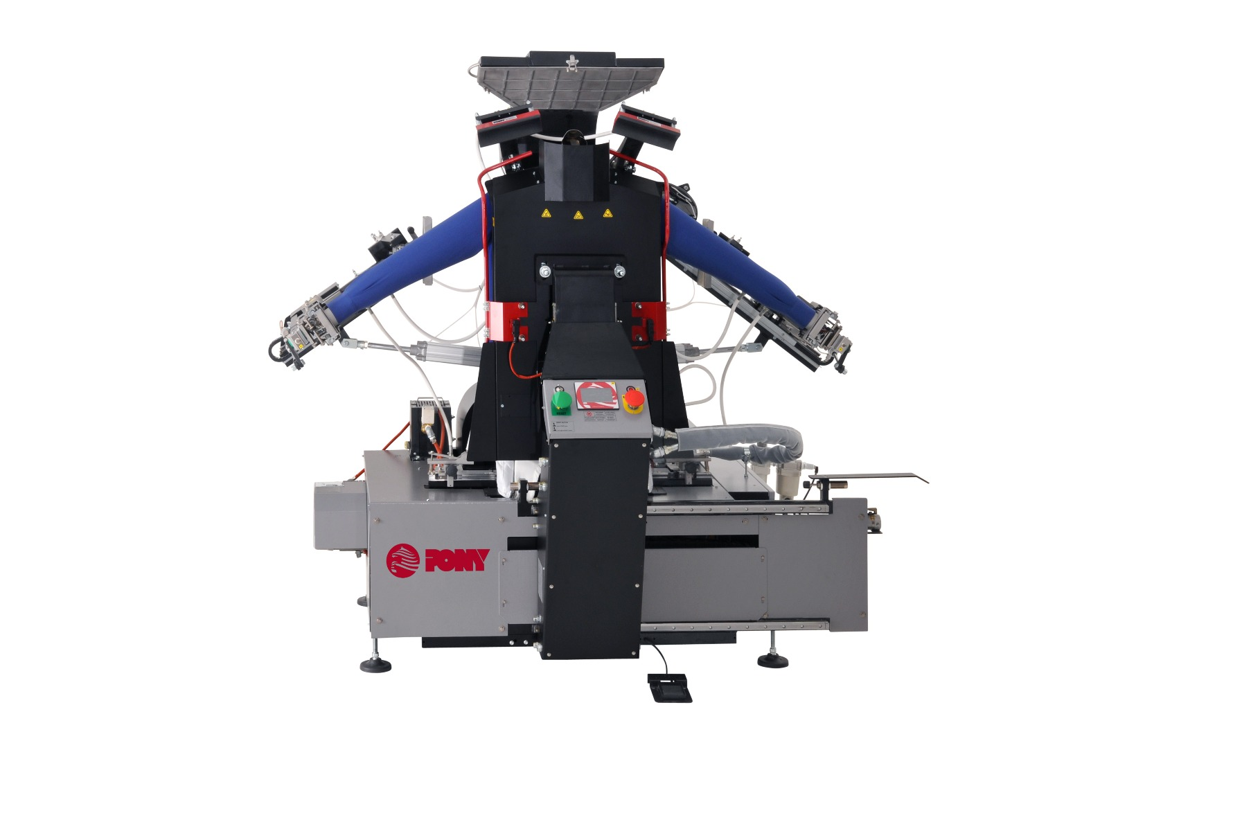 Single buck shirt press