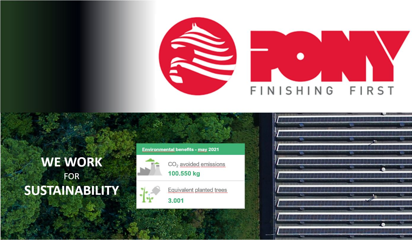 WE WORK FOR SUSTAINABILITY