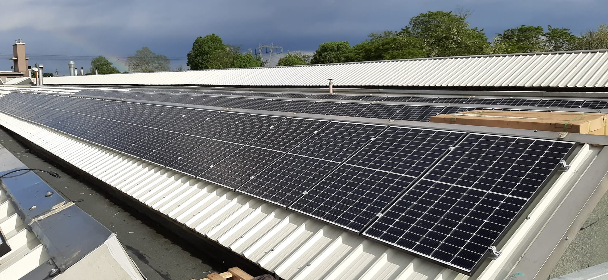 New photovoltaic system for energy saving