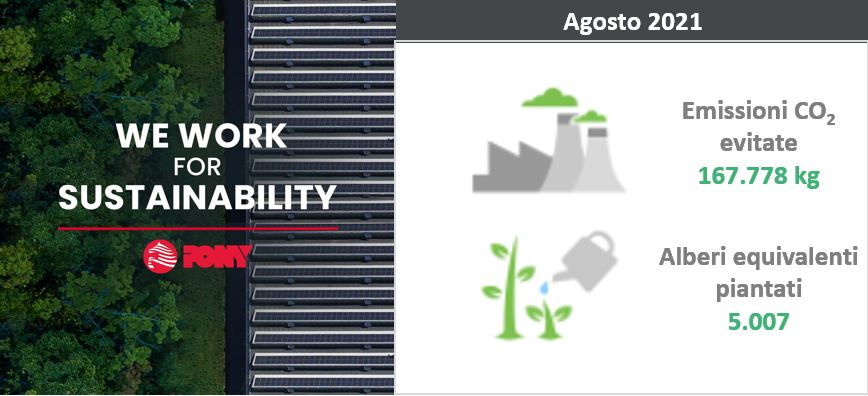 WE CONTINUE WORKING FOR SUSTAINABILITY